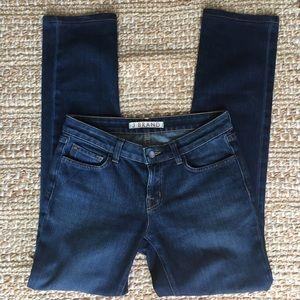 J Brand Straight Leg Medium Wash 37014 DKV Jeans